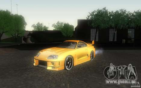 Toyota Supra Chargespeed für GTA San Andreas