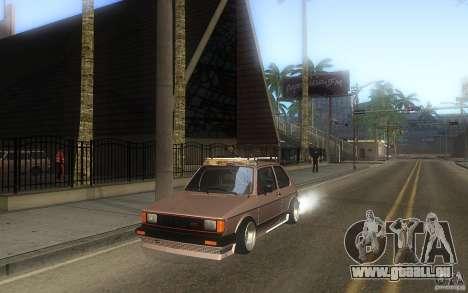 Volkswagen Golf GTI rabbit euro style pour GTA San Andreas vue de côté