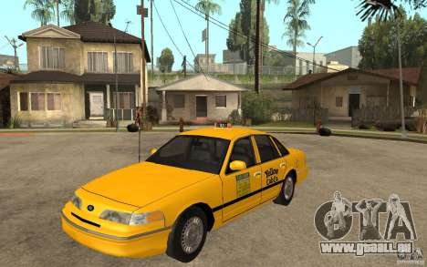 Ford Crown Victoria Taxi 1992 pour GTA San Andreas