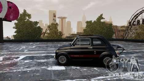 Fiat 500 695 Abarth pour GTA 4 est une gauche