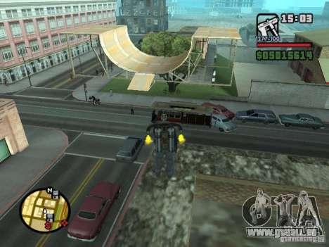 Construction de maisons 3 (et pas seules) pour GTA San Andreas deuxième écran