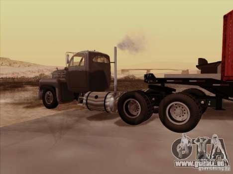 Mack B 61 pour GTA San Andreas vue de droite
