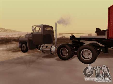Mack B 61 für GTA San Andreas rechten Ansicht