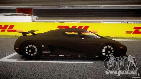 Koenigsegg CCXR Edition pour GTA 4 est une vue de l'intérieur