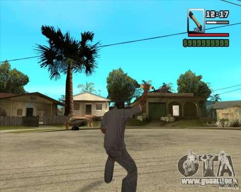 Fusée m-24 pour GTA San Andreas troisième écran