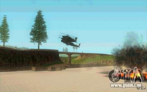 6 étoiles pour GTA San Andreas quatrième écran