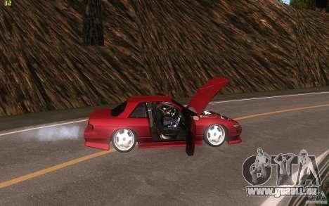 Nissan Silvia S13 Clean Edition pour GTA San Andreas vue intérieure