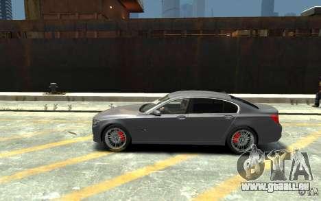 BMW ActiveHybrid 7 2010 pour GTA 4 est une gauche
