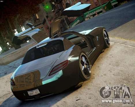 Mercedes SLS Extreme pour GTA 4 est un droit