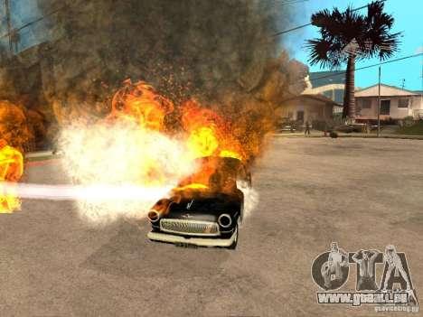Volga 21 für GTA San Andreas zurück linke Ansicht