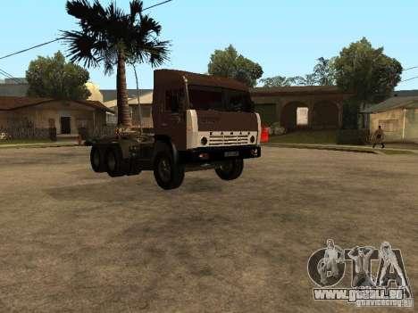 KAMAZ 5410 für GTA San Andreas zurück linke Ansicht