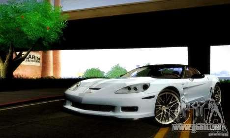 Chevrolet Corvette ZR-1 pour GTA San Andreas laissé vue