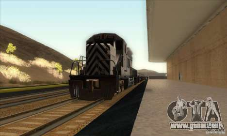 Russian Rail v2.0 pour GTA San Andreas