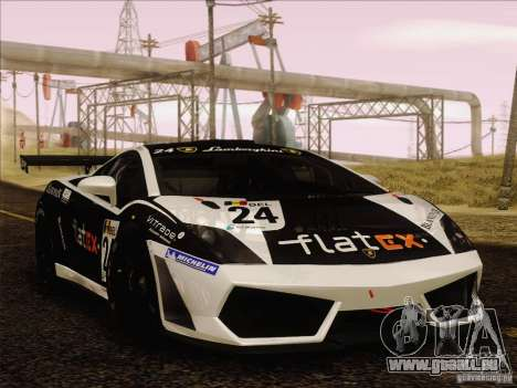 Lamborghini Gallardo LP560-4 GT3 V2.0 für GTA San Andreas