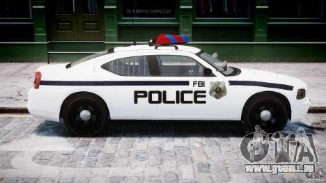 Dodge Charger FBI Police für GTA 4 Seitenansicht