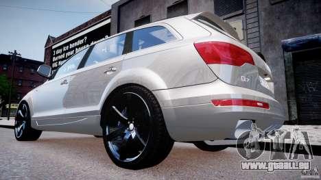 Audi Q7 LED Edit 2009 pour GTA 4 est un droit