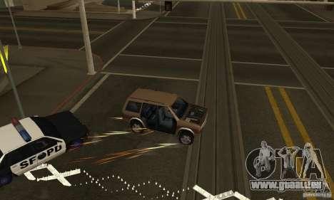Die SPIKES auf der Straße für GTA San Andreas zweiten Screenshot