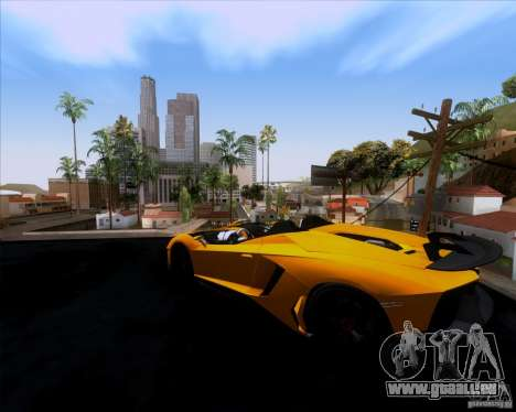 Lamborghini Aventador J TT Black Revel für GTA San Andreas linke Ansicht
