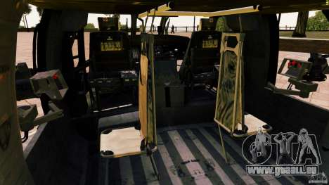 MH-60K Black Hawk pour GTA 4 est un côté