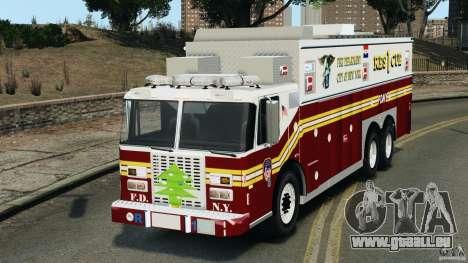 FDNY Rescue 1 [ELS] für GTA 4