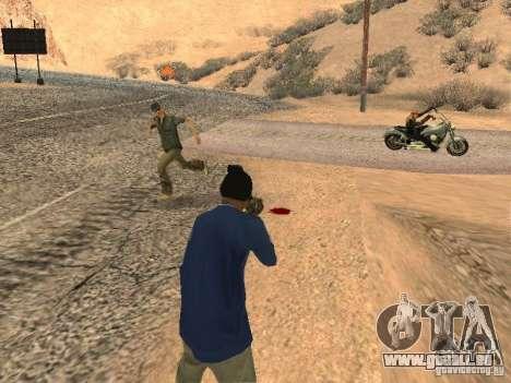 Geänderte System pedov für GTA San Andreas zweiten Screenshot