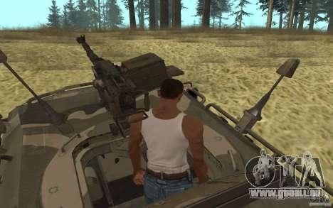 GAZ-2975 pour GTA San Andreas sur la vue arrière gauche