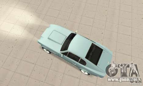 Aston Martin V8 für GTA San Andreas zurück linke Ansicht