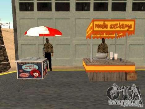 Nouveau vendeur de Hot-Dog pour GTA San Andreas