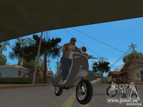Vyatka VP 150 pour GTA San Andreas sur la vue arrière gauche