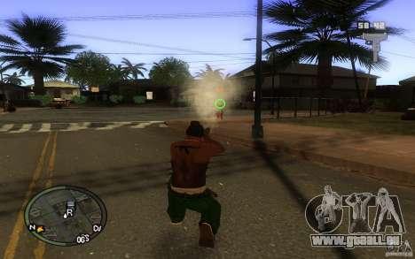 Vue v1 pour GTA San Andreas deuxième écran