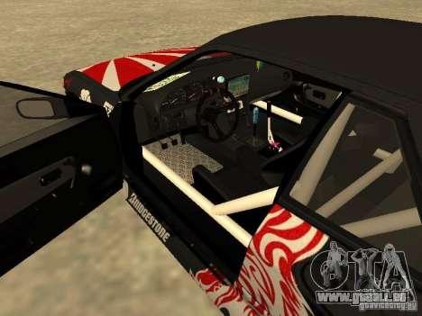 Nissan Silvia S13 JDM für GTA San Andreas Innenansicht