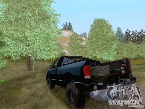 Dodge Ram Trophy Truck pour GTA San Andreas laissé vue