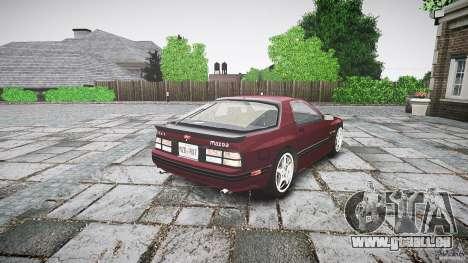 Mazda RX7 FC3S pour GTA 4 est une vue de l'intérieur