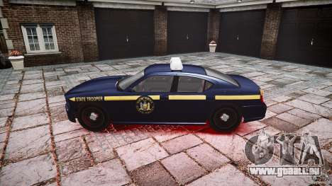 New York State Police Buffalo für GTA 4 linke Ansicht