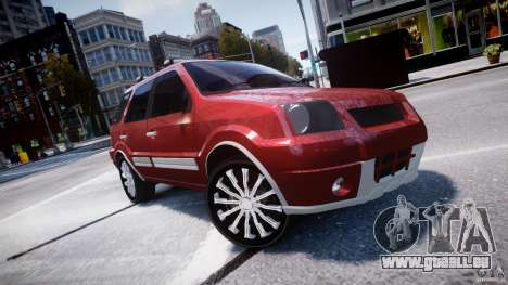 Ford EcoSport für GTA 4 Seitenansicht