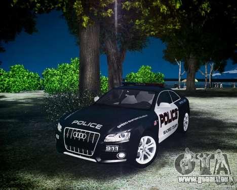 Audi S5 Police pour GTA 4