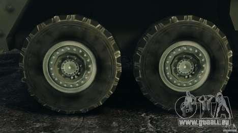 Stryker M1134 ATGM v1.0 pour GTA 4 est une vue de l'intérieur