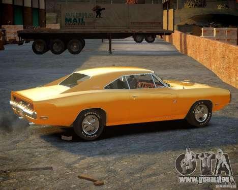 Dodge Charger Magnum 1970 pour GTA 4 Vue arrière de la gauche