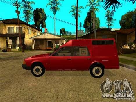 AZLK 2901 für GTA San Andreas linke Ansicht