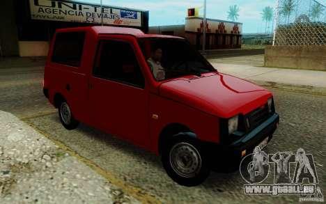 SEAZ Oka Pickup pour GTA San Andreas vue arrière