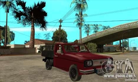 Anadol Pickup pour GTA San Andreas vue arrière