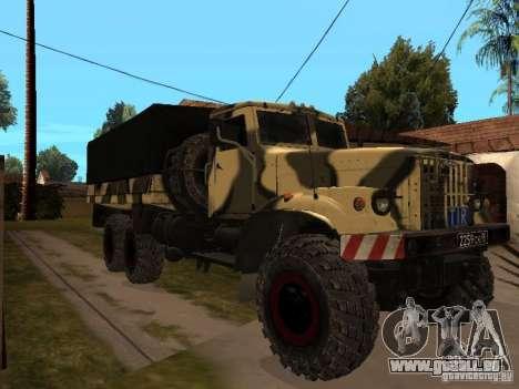 KrAZ 255 B1 V 2.0 für GTA San Andreas