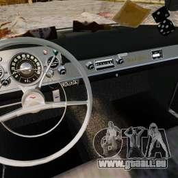 Chevrolet Bel Air 1957 Rusty für GTA 4 Rückansicht