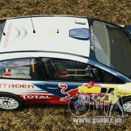Citroen C4 WRC pour GTA 4 est un droit