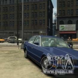 BMW 535i (E34) pour GTA 4 Vue arrière