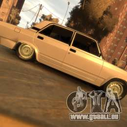 VAZ 2107 für GTA 4 Rückansicht