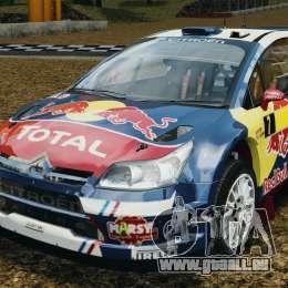 Citroen C4 WRC pour GTA 4
