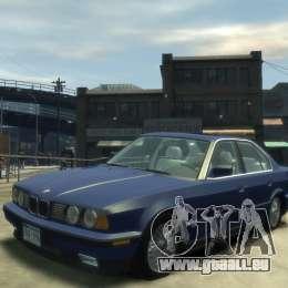 BMW 535i (E34) pour GTA 4