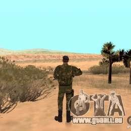 Commando soviétique pour GTA San Andreas troisième écran