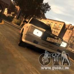 VAZ 2107 für GTA 4 linke Ansicht